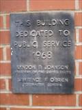 Image for U.S. Post Office - 1968 - Jacksonville, Oregon