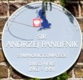 Image for Sir Andrzej Panufnik - Riverside, Twickenham, UK