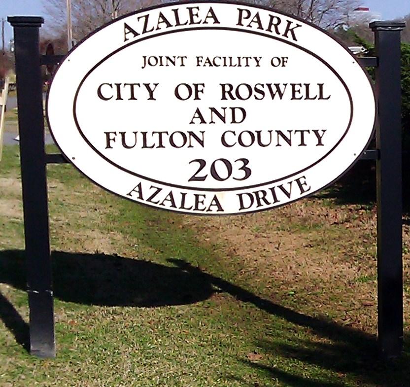 Azalea Park Roswell ga Azalea Park on The Chattahoochee River in Roswell ga Image