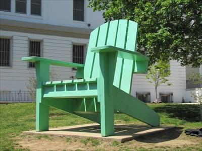 Pane 1, Left Side of Chair, Duke Ellington School for the Arts, Washington, DC
