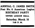 Image for American Legion C James Smith Post 6 - Choteau, MT