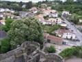 Image for vue sur Oudon depuis le chateau, France