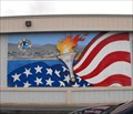 Image for Olympic torch mural - Seaside, California