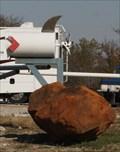Image for Propellered Shark Boat Mailbox -- Overbrook OK