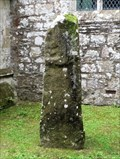 Image for Vitatianus Stone - St Brynach Church - Nevern, Pembrokeshire, Wales.