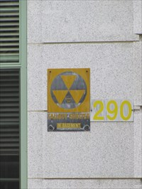 Civil Defense Sign for 290, Annapolis, MD