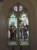 Image for Stained Glass Window - St Christopher's Church, Winfrith Newburgh, Dorset, UK