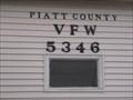 Image for Post 5346 Piatt County VFW - Monticello, Illinois.