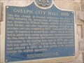"Image for ""GUELPH CITY HALL 1856"""
