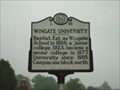Image for L 58 Wingate University