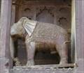 Image for Jahangir Mahal Elephants Sculptures - Orchha, Madhya Pradesh, India