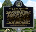 Image for New Hope Cemetery - Birmingham, AL