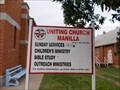 Image for Peace Dove at Uniting Church - Manilla - NSW - Australia