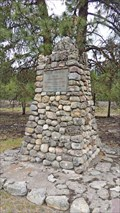 Image for David Thompson Cairn - Thompson Falls, MT