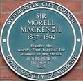 Image for Sir Morell MacKenzie - Golden Square, London, UK