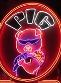 Image for The Pig On Beale - Neon - Memphis, Tennessee, USA.