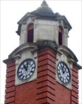Image for Old Police Station Clock - City & County of Swansea, Wales.