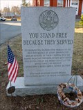 Image for You Stand Free Because They Served - Great Barrington, MA