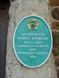 Image for Archdeacon Robert Johnson - Old Grammar School - Uppingham, Rutland