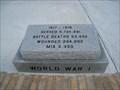 Image for World War I Monument - Ft. Meade, FL