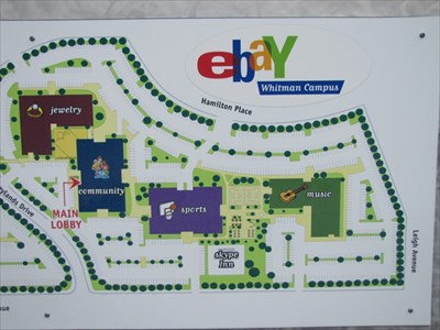 San Jose Campus Map.Ebay Whitman Campus Toys Building San Jose Ca You Are Here