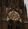 Image for Town Clock Bürgermeister-Smidt-Gedächtniskirche, Bremerhaven, Bremen, Germany