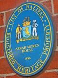 Image for Sarah Moren House - Halifax, NS
