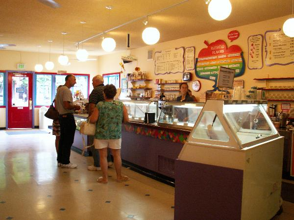 Ice Cream Parlor Interior