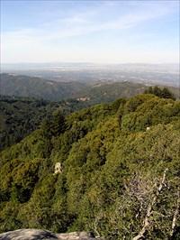 Santa Clara Valley from Summit Rock