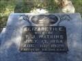 Image for Elizabeth E. Watkins - Joshua Creek Cemetery - Arcadia, Florida, USA