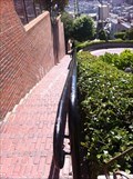 Image for Lombard Street Stairway Left (North) - San Francisco, CA