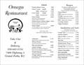 Image for Omega Restaurant - Grand Forks, British Columbia
