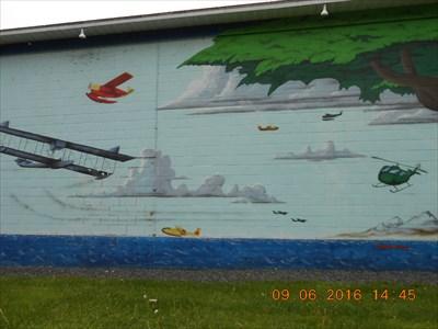 Plusieurs avions dans le ciel.Several aircraft in the sky.