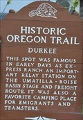 Image for Historic Oregon Trail ~ Durkee