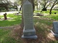 Image for Hulda Johnson - Oak Park Cemetery, Alvin, TX