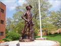 Image for The Minuteman Statue, Illinois National Guard Headquarters, Springfield, Illinois.