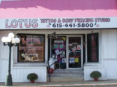 Lotus tattoo and body piercing studio dickson tn for Tattoo shops in tennessee