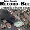Image for Granzella's burns down - Williams, CA