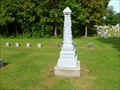 Image for ZINC - Bennett Family Monument