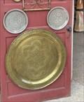Image for Mickey Brass Plates - Morocco - Epcot - Lake Buena Vista, FL