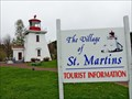Image for St. Martins Visitor Centre - St. Martins, NB