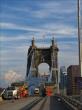 Image for John A. Roebling Bridge - Cincinnati, Ohio