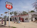 Image for Route 66 Cafe - Midway Gas & Service Station - Adrian, Texas, USA.