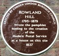 Image for Rowland Hill - Cartwright Gardens, London, UK