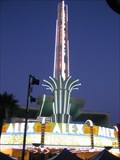 Image for The Alex Theater Neon Spire- Glendale California USA