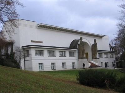 Ernst Ludwig Haus On The Mathildenhohe Darmstadt Art Deco
