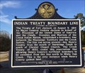 Image for Indian Treaty Boundary Line - Screamer, AL