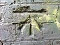 Image for Cut Benchmark on Innage Road Railway Bridge, Shifnal, Shropshire