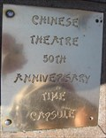 Image for Chinese Theater 50th Anniversary time capsule - Los Angeles, CA
