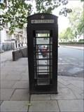 Image for Black Telephone Box - Cavendish Square, London, UK